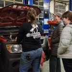 Vermont PBS Car Care class photo shoot